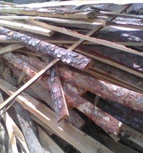 Горбыль на дрова. Сосна сухая