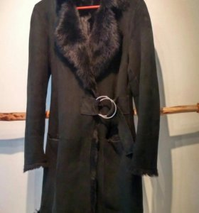 Дубленка пальто женская