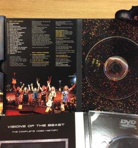 """DVD- диски """"Iron Maiden"""" 3 издания(всего 5 дисков)"""