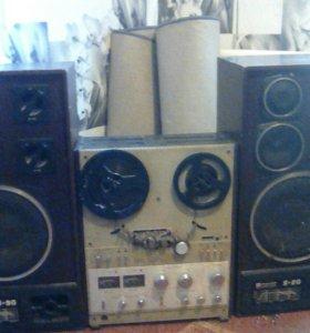Магнитафон союз 110 стерео