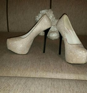 Шикарные праздничные туфли
