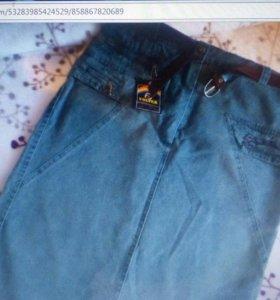 Юбка новая джинс 50размер