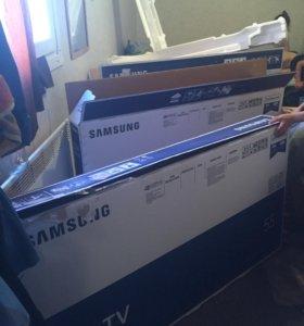 Коробки с ножками от телевизоров Samsung mu6100