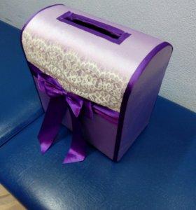 Коробка для даров на свадьбу