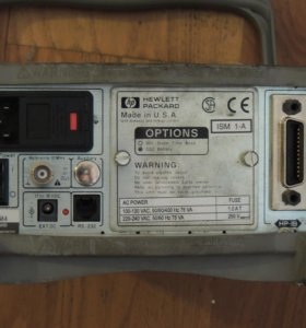Частотомер HP 53150A  в паре с Escort EFC 3201