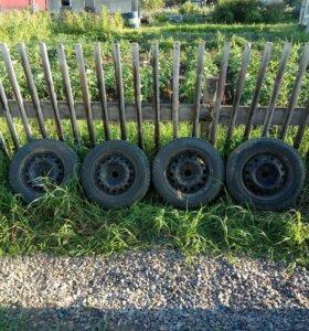 Зимние шипованные колеса на штампах, r14