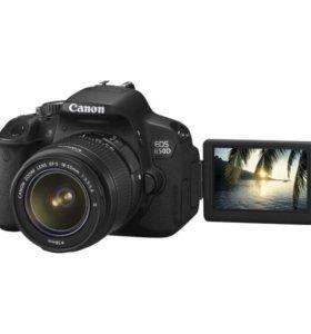 Canon 650d kit 18-55 mm