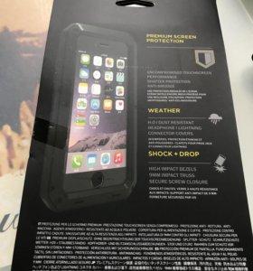 Металлическийударопрочный чехол на Айфон 7+