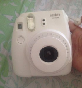 полароид fujifilm instax mini 8 white