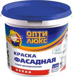 """ВД краска """"Оптилюкс"""" фасадная, ВД краска """"Коллекция"""" для стен и потолков"""