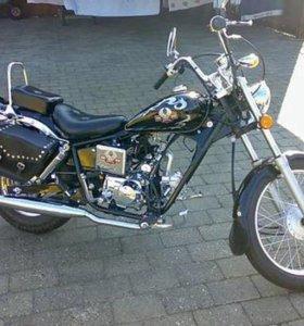 Мопед-мотоцикл