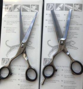 2 Ножницы парикмахерские Ягуар