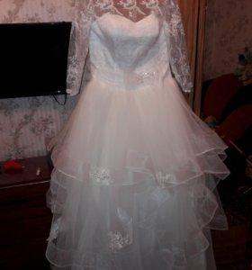 Платье свадебное+прочее