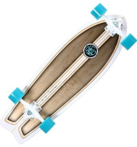 лонгборд oxelo surf fish 31