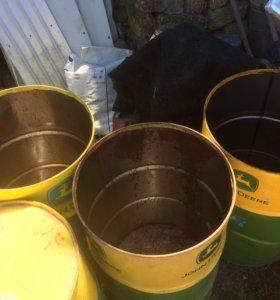 Бочки 200 литров прорубленные