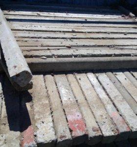 Кол бетонный