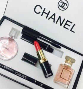 Подарочный набор Chanel Present Set 5 в 1 Шанель 5в1