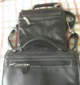 Барсетка и сумка мужские