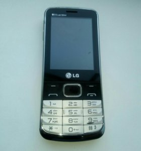 Двухсимочный телефон LG