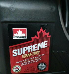 Моторное масло petro-canada 5w-30 supreme