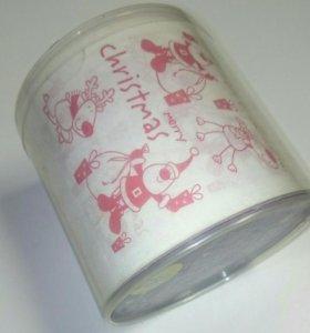 Подарочная туалетная бумага с принтом