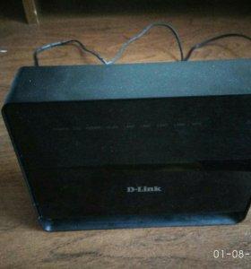ADSL WiFi роутер D-Link