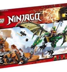 Лего Ниндзяго - Зелёный дракон