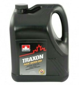 Трансмиссионное масло petro-canada 80-w90 traxon