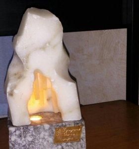 Сувенирный камень- ночник