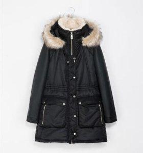 Zara парка куртка