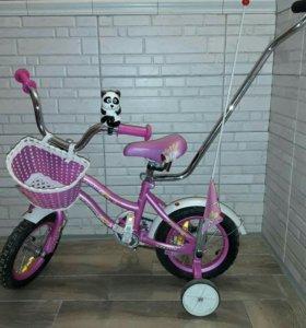 Велосипед+корзина+гудок 2-12 лет