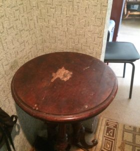 Столик под реставрацию старинный