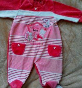 Новая Детская одежда р. 56-68