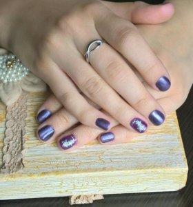 Маникюр, педикюр, наращивание ногтей