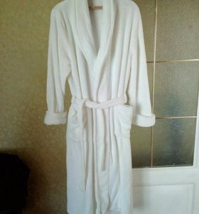 Плюшевый халат новый
