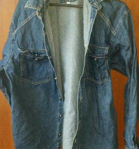 Джинсовые рубашки