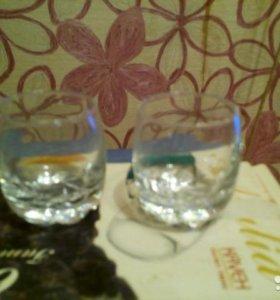 Набор стеклянных стопок (10 штук)
