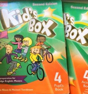 Английский язык kid's box 4, round-up 2