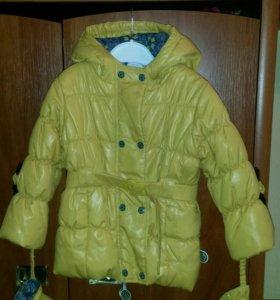 Куртка детская для девочки одевали пару раз