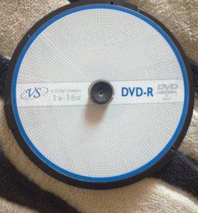 Диски DVD-R 9шт. 4.7GB