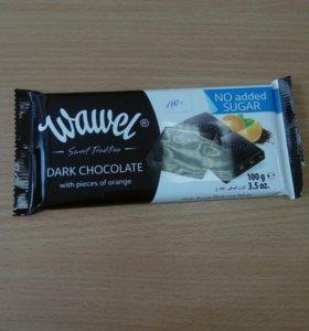 Чёрный шоколад без сахара