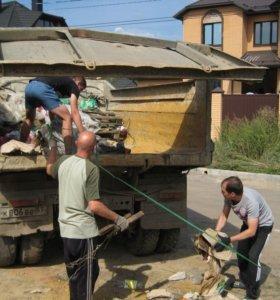 Подъем материалов и вынос мусора.