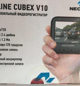 Автомобильный видеорегистратор neoline cubex v10