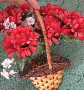 Искусственные цветочки
