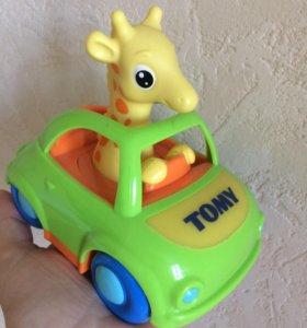 Игрушка tomy жираф