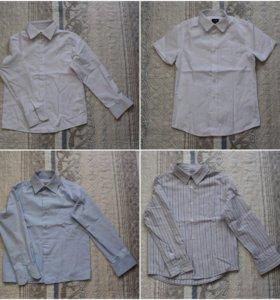 Школьная рубашка 4 шт