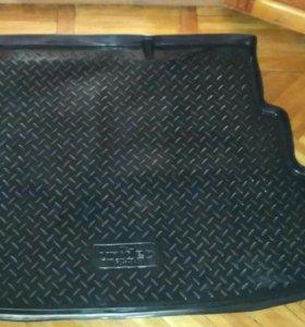 Коврик в багажник solaris седан
