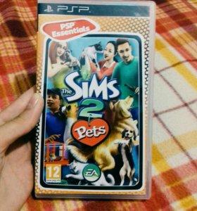 """Игра для PSP """" the Sims 2 """" !!!!!"""