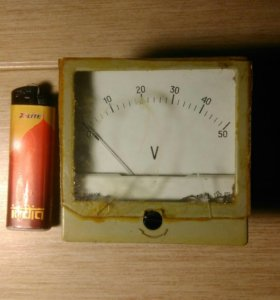 Амперметр до 50 вольт