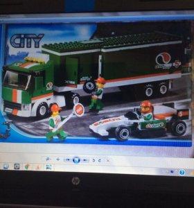 Конструктор Лего сити 60025 грузовик гран при